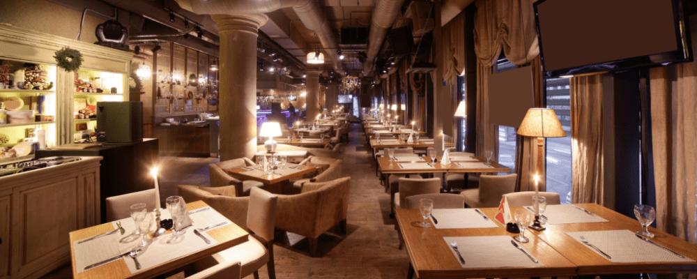 Beleuchtung in Gastronomie & Hotels