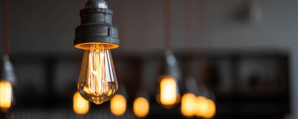 Beleuchtung im Privathaushalt