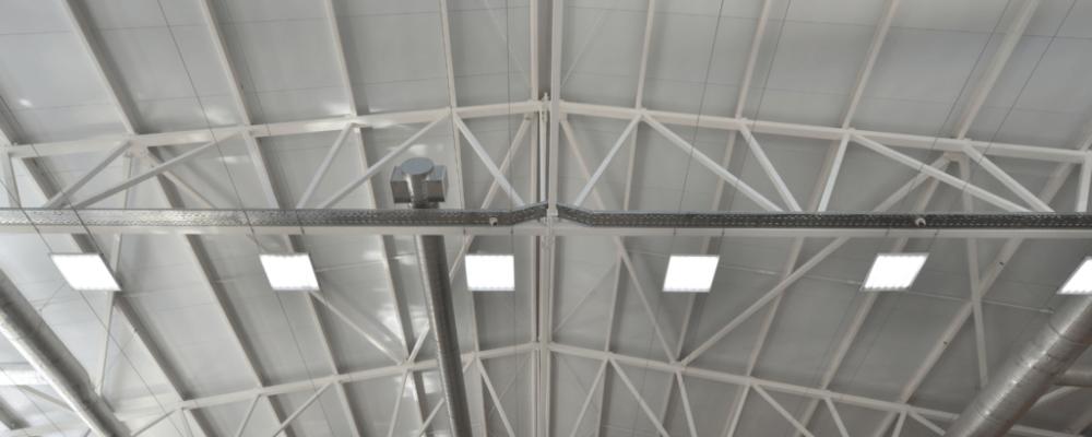 Beleuchtung in Industriegebäuden