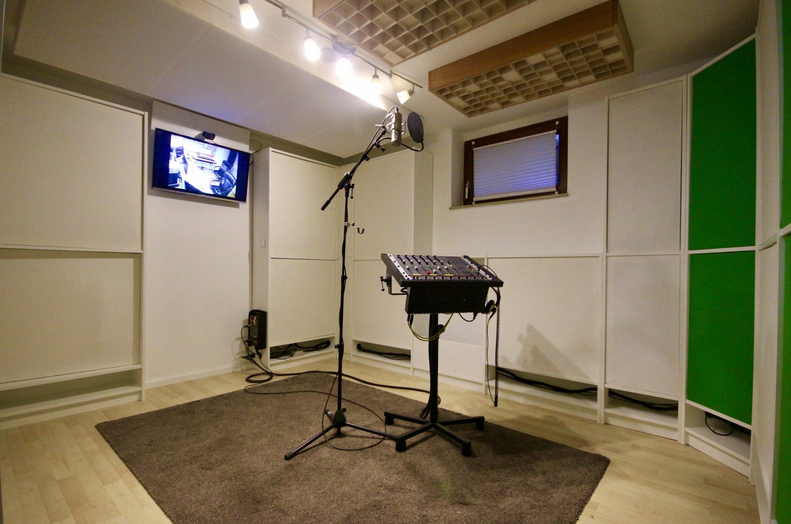 Aufnahmeraum Gesang