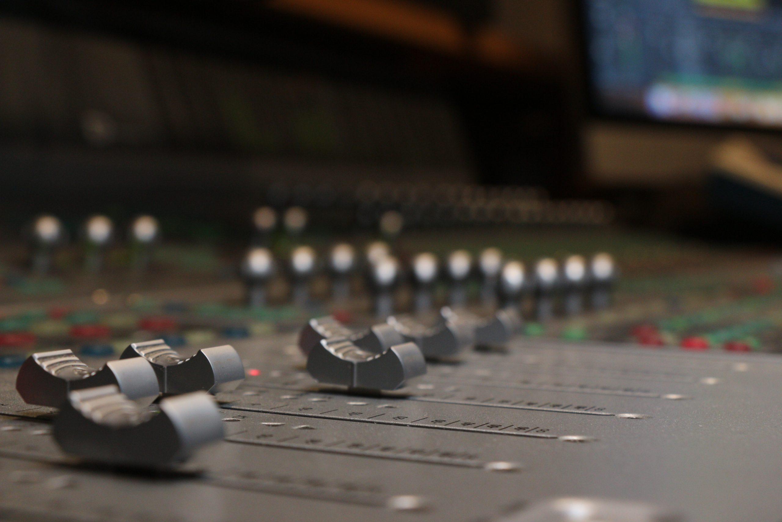 Studio Pult Hintergrundbild 3